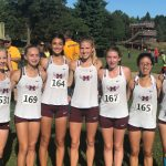 Girls Cross Country races to 5th place at County Clash