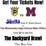 Presale Tickets for the Backyard Brawl