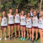 Girls Cross Country 2nd place at Sectionals