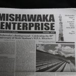 EXTRA EXTRA Read All About Mishawaka Football History!  First 1,000 Fans Friday Night will get a Commemorative Edition
