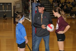 Elementary Volleyball Tournament Starts with Excitement