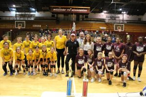 Rockets Soar to Mishawaka Elementary Volleyball Championship