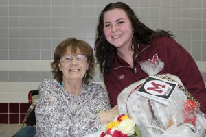 Senior Night for Mishawaka Swimming