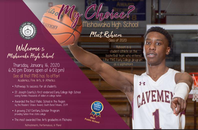 "Mishawaka Hosting 8th Graders – ""My Choice"""