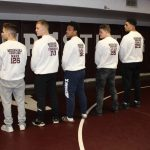 Mishawaka Send Off for 5 State Bound Wrestlers – (Interviews – Mishawaka Network)