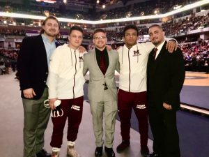 Mishawaka Wrestling at State!  Joe Walker State Champ – Jacob LaPlace State Runner-Up