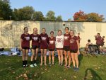 Girls Varsity Cross Country 3rd at Sectionals, Advance to Regionals