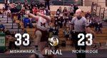 Cavemen Wrestlers take down Northridge 33 – 23