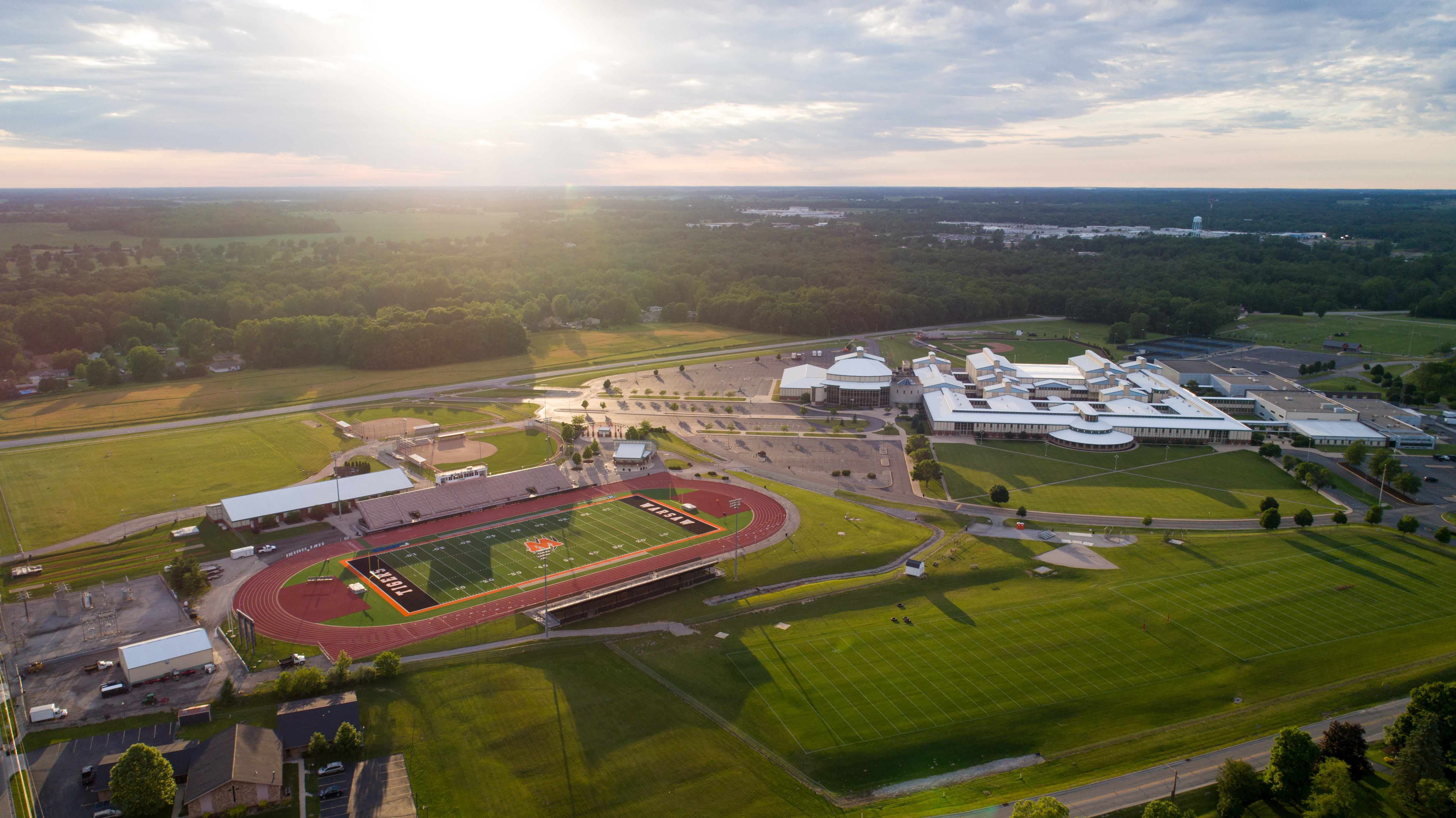 WELCOME TO THE NEW HOME FOR TIGER ATHLETICS