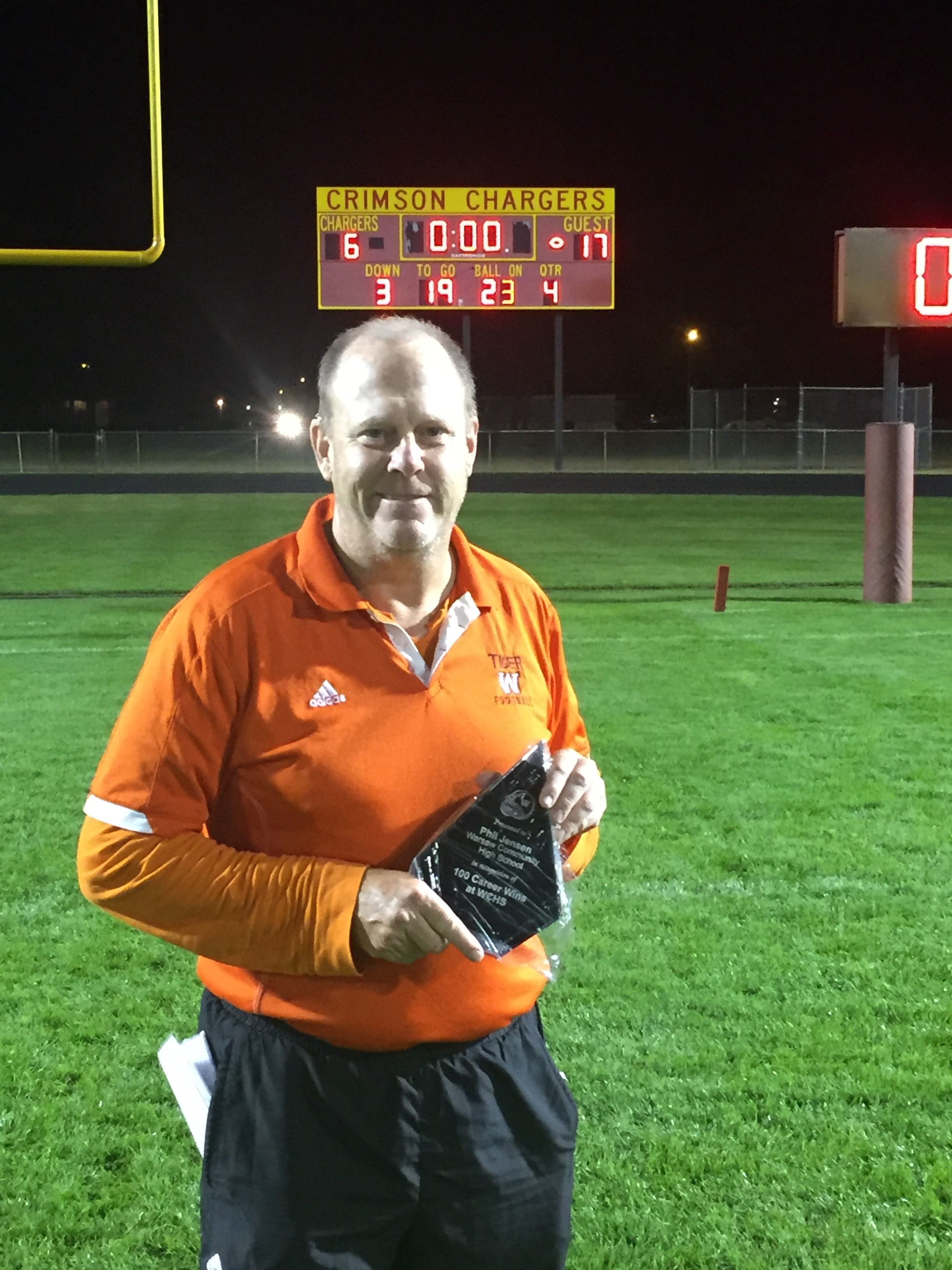 WCHS Head Football Coach Jensen Announces Retirement
