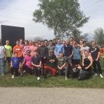 Boys Track Cleanup at Chinworth Trails