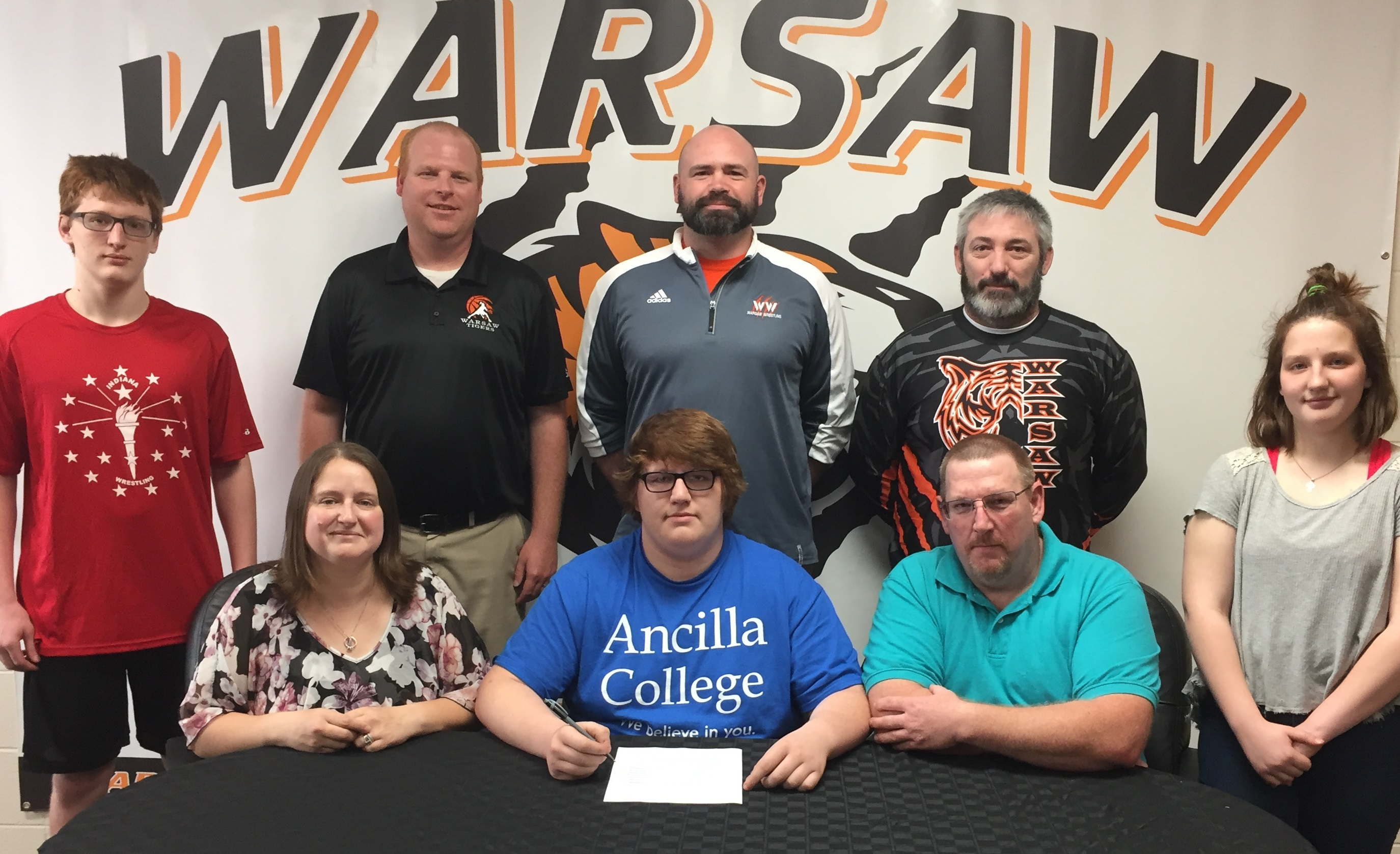 ESTEPP TO CONTINUE EDUCATION AND WRESTLING AT ANCILLA.