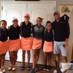Girls Varsity Golf finishes 2nd place at Plymouth Invite