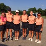 Girls Varsity Golf finishes 3rd place at East Noble Invite