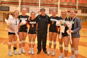 Volleyball Senior Night Photos