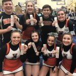 Congratulations to the Cheer Competition Squad