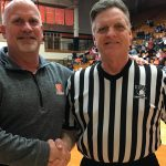 TIGERS PAY TRIBUTE TO IHSAA OFFICIAL JAY SMITH