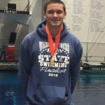 Congratulations to Grant Knight 6th place at Boys Swim State Meet