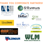 Thank you 2020 Corporate Partnerships!