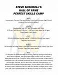 Volleyball Skills Camp