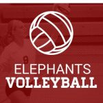 Lady Elephant Volleyball splits in the last home trip-match of the season