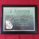 Region's Bank Director's Cup awarded to Gainesville Athletics