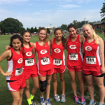 Girls Cross Country Aug. 22