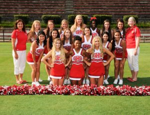 Football Cheerleading 2015-2016 School Year