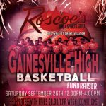 Fundraiser for Boys Basketball Saturday Sept. 26