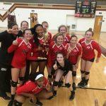 JV Volleyball team takes Region