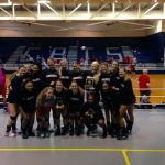 Region 8 AAAAA Volleyball Champions the Lady Red Elephants