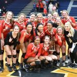 First round GHSA AAAAA State Volleyball Playoffs Sweep for GHS