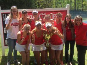 Girls Tennis 2015-2016 School Year