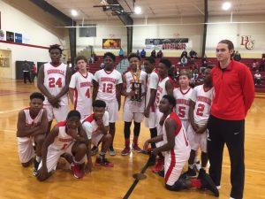 Middle School Boys Basketball 2016-2017