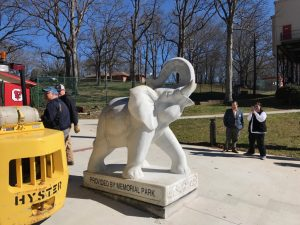 City Park New Elephant 2017