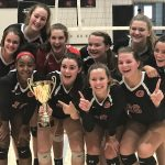 GHS Volleyball Wins Area Championship