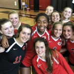 The GHS Volleyphants win their first round matchup with Douglas County