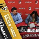 Cindy Bonilla signs with Brenau