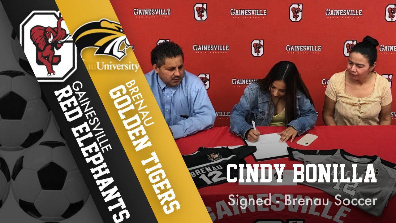 Cindy Bonilla signs with Brenau