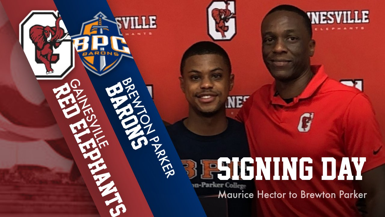 Hector signs with Brewton-Parker