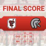 Beat North Hall Wek continues as Varsity Volleyball beats North Hall 2 – 0