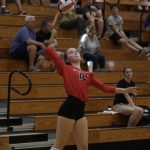 Varsity Volleyball beats Flowery Branch 2 – 0