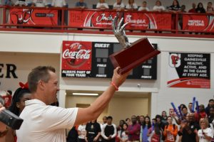 High 5 Sports Team of the Week pep rally (8-29-19)