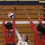 Varsity Volleyball beats North Forsyth 2 – 0