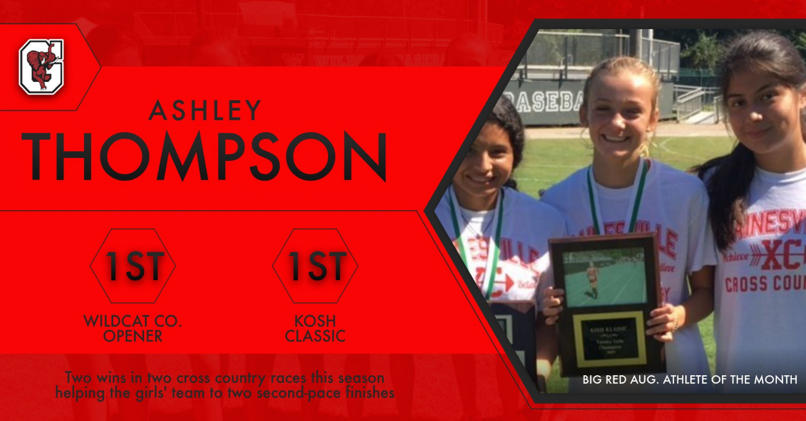 ATHLETE OF THE MONTH FEATURE: Ashley Thompson
