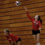 Varsity Volleyball beats Johnson 2 – 0