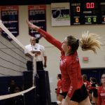 Varsity Volleyball beats Lanier Christian academy 2 – 0