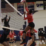 Varsity Volleyball beats North Hall 2 – 1