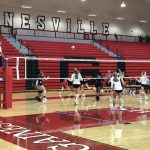 Volleyphants earn clean sweep of West Hall, Lanier Christian
