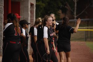 GHS softball vs. North Hall (8/10/19)